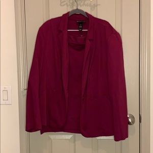 Size 24 pencil skirt and blazer combo